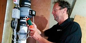 Radon remediation contractor